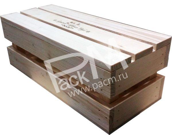 Как сделать реечный ящик